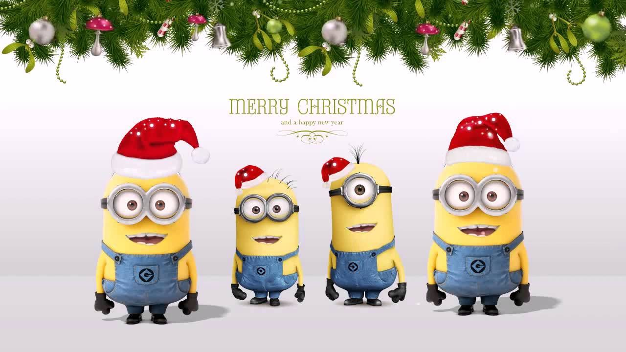 minions christmas song youtube - Minion Merry Christmas