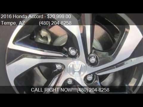 2016 Honda Accord LX 4dr Sedan CVT for sale in Tempe, AZ 852