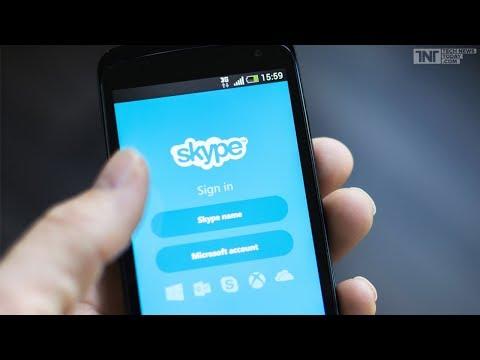 Как установить скайп на телефон