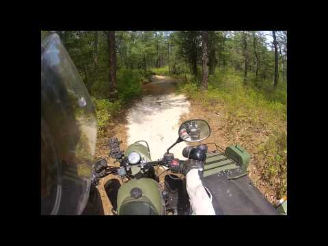 2015 Jersey Devil Hunt with the Soviet Steeds (Urals off road)