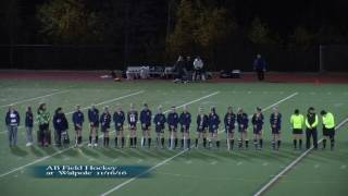 Acton Boxborough Field Hockey at Walpole 11/16/16
