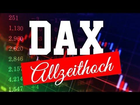 DAX: Bald neues Allzeithoch?
