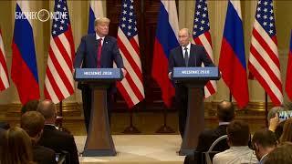 Путин о вмешательстве России в выборы в США: «Это полный бред!»