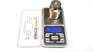 Как калибровать цифровые весы. Калибровка ювелирных весов MH-200 от Интернет-магазина Electronoff(, 2014-12-04T18:19:09.000Z)