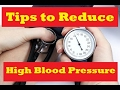 7 Best Ways to Reduce High Blood Pressure Without Medication | Stop Hypertension