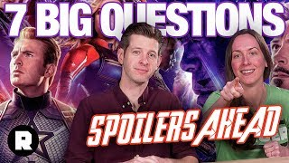 Seven Big Questions From 'Avengers: Endgame' (Spoiler-Filled Review) | The Ringer