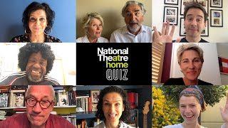 Official National Theatre at Home Quiz 2 | Simon Callow, Meera Syal, Tamsin Greig + Imelda Staunton