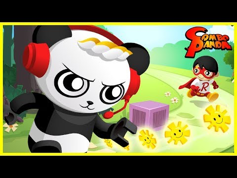 TAG WITH RYAN Brand New Red Titan Game Let's Play With Combo Panda
