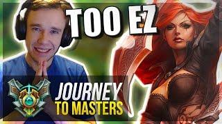 KATARINA IS BACK & BROKEN!! - Journey To Masters #4 S7 - League of Legends