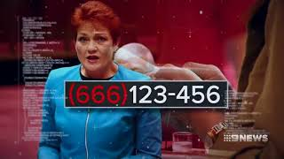 The number of the beast: Pauline Hanson wants '666' prefix for phone scammers