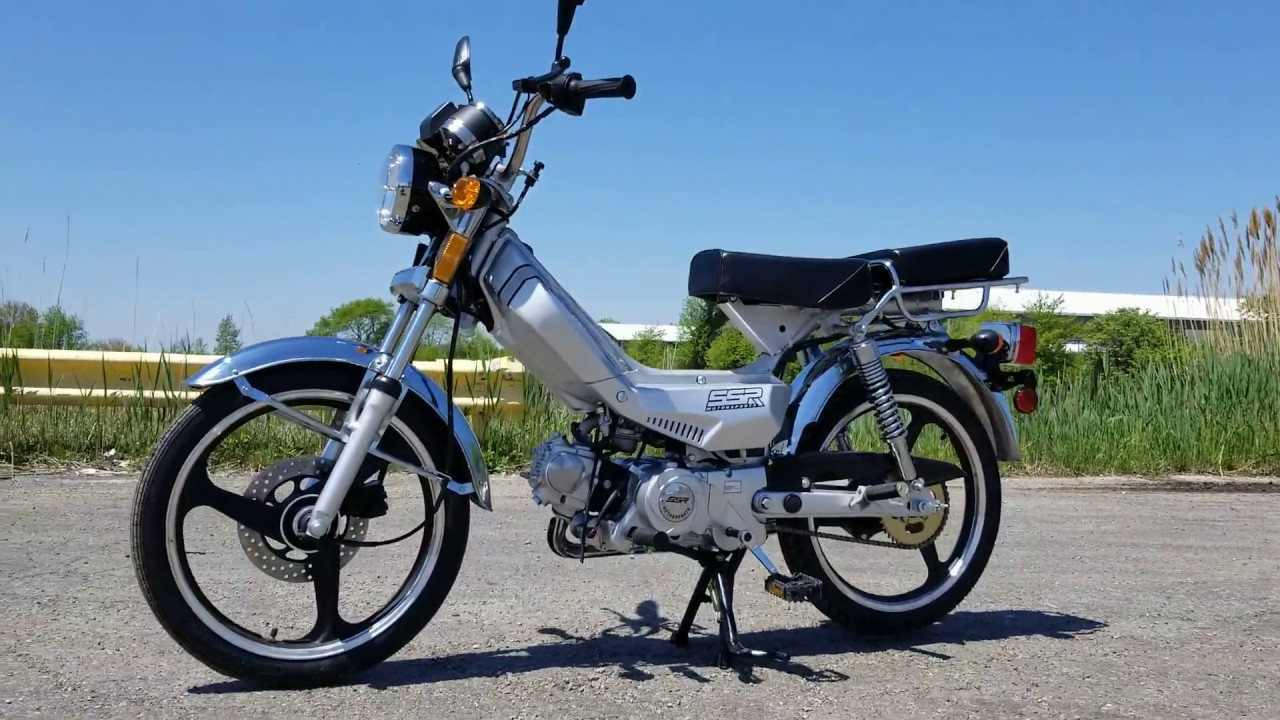 SILVER LAZER 5 49CC MOPED 50CC SCOOTER WITH PEDALS No License Required In  Most States!