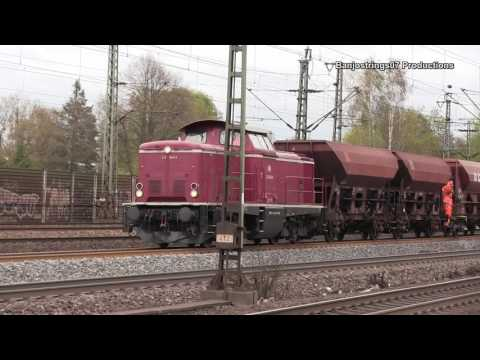 Trains at Hamburg Harburg ~ Zuge Bei Hamburg Harburg 18/04/2017