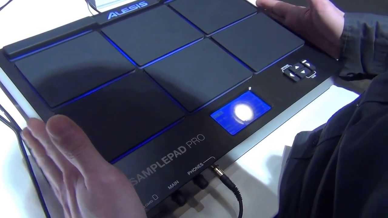 Alesis Sample Pad Pro - 2014 MusikMesse - YouTube