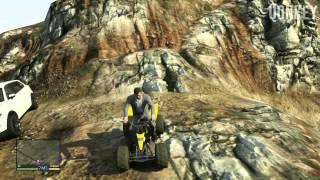 GTA V | Secret Car LOCATIONS - Dune Buggy & Quad Bike