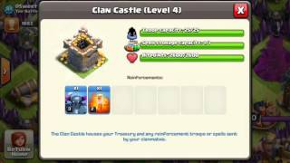 Clash of Clans donation bug