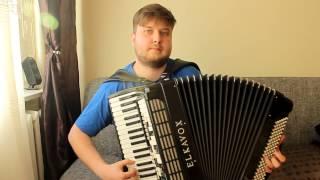 Biesiadne - Szła dzieweczka do laseczka - akordeon