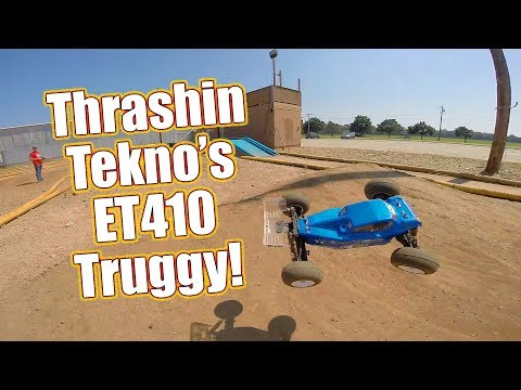 Could This 1/10 Truggy Start A Racing Trend? Tekno ET410 4WD Electric Truggy Kit Review | RC Driver