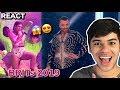 Lagu REACT Dua Lipa, Sam Smith e Calvin Harris - One Kiss  Promises  (Live BRITs Awards 2019)