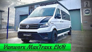 VW CRAFTER CONVERSION! - Vanworx Maxtraxx LWB