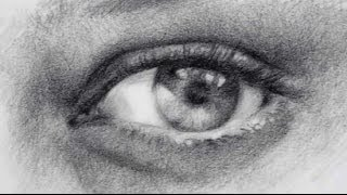 How to Draw Realistic Eyes - Pencil Shading Exercise