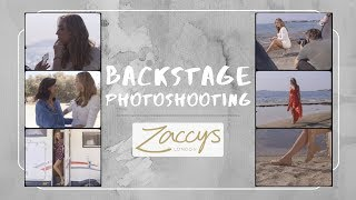 Backstage Photoshooting | Zaccys Shoes