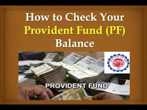 How to Check Your Provident Fund (PF) Balance Online - My Technical Support