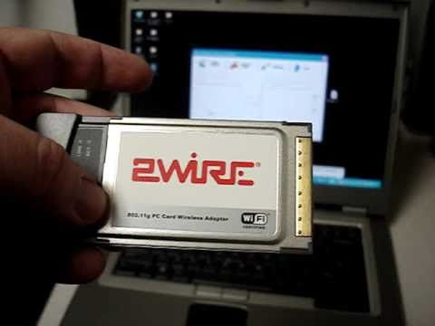 2WIRE PCMCIA WIRELESS CARD DRIVER DOWNLOAD FREE