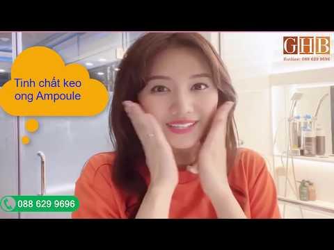 Ca sĩ Hari Won review tinh chất keo ong Ampoule Hà Quốc