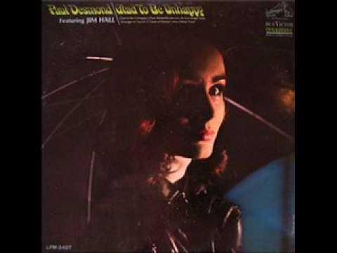 """A taste of honey""  Paul Desmond"