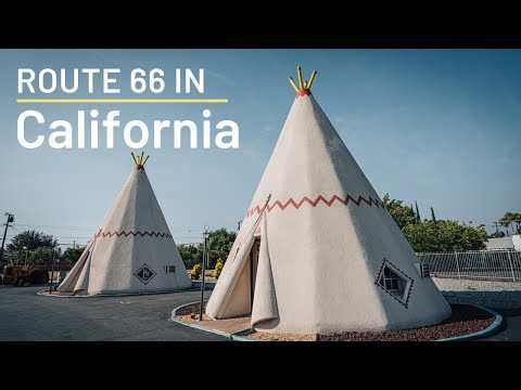 Route 66 Road Trip Stops in California