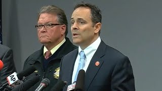 Kentucky governor gives update on high school shooting
