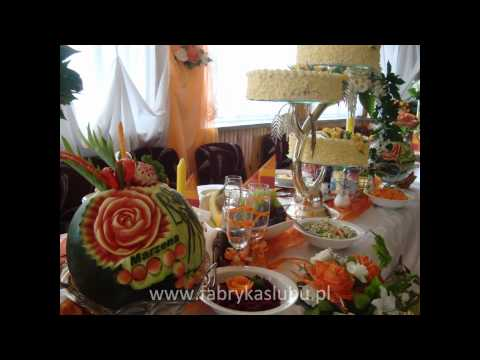 Carving Rzeźbienie W Owocach Na Wesele ślub Imprezę Okolicznościową Rzeszów Krosno Podkarpacie