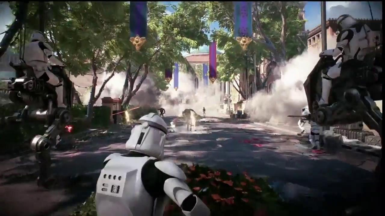 Star Wars Battlefront 2 Assault On Theed Multiplayer Gameplay Demo