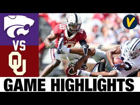 Kansas State Vs #3 Oklahoma Highlights   Week 4 College Football Highlights   2020 College Football