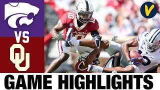 Kansas State Vs #3 Oklahoma Highlights | Week 4 College Football Highlights | 2020 College Football