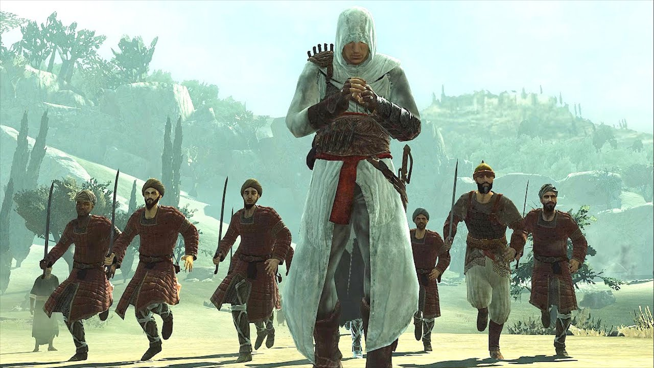 Assassin 39 s creed 1 altair s rampage in jerusalem youtube - Assassin s creed pictures ...
