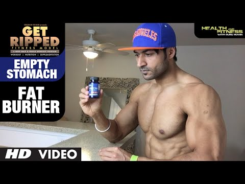EMPTY STOMACH Fat Burner | GET RIPPED Male & Female FITNESS MODEL Program by Guru Mann