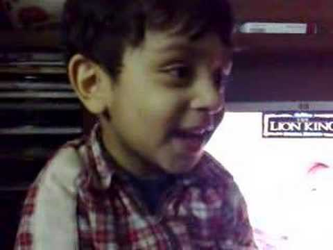 surat al kausar (muhammad haider buttar 2/half years old)