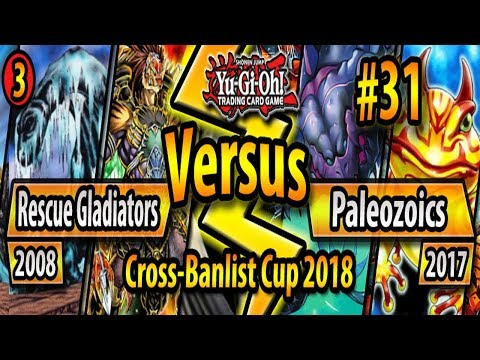 Rescue Gladiator Beasts (2008) vs. Paleozoic Frogs (2017) - Cross-Banlist Cup 2018 - Match #31