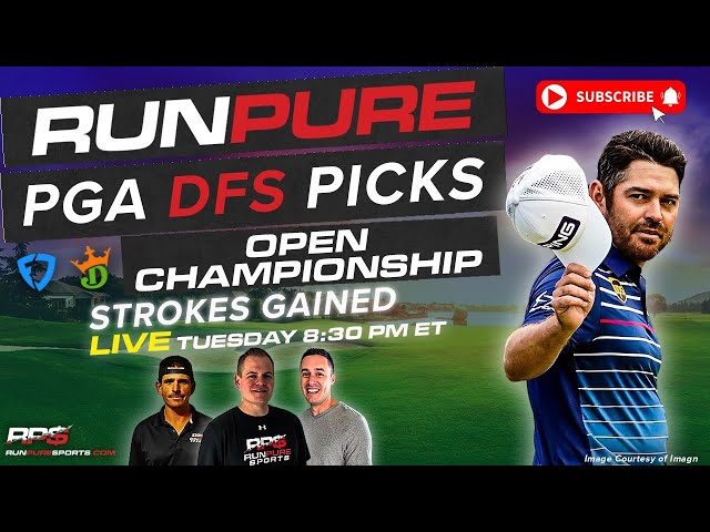 OPEN CHAMPIONSHIP DRAFTKINGS PGA PICKS - STROKES GAINED