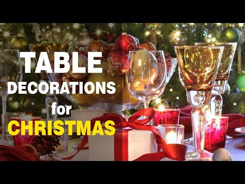 Christmas Table Decoration Ideas: Get Holiday Party Inspiration