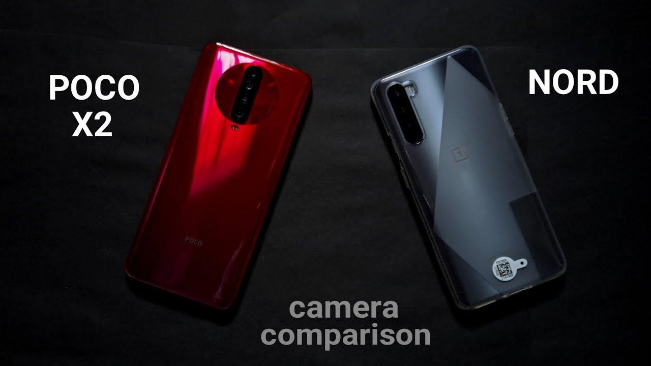 One Plus NORD vs Poco X2 Camera comparison _ it's a difficult choice