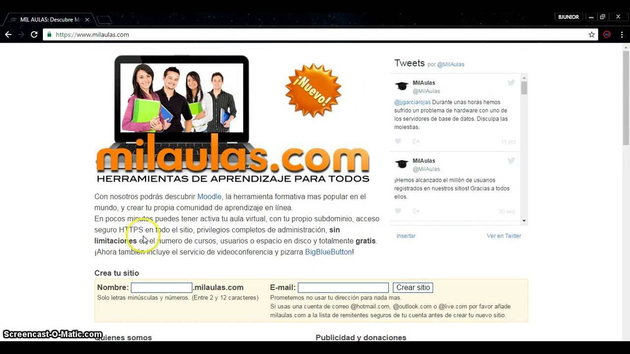 crea tu propia plataforma virtual moodle gratis youtube