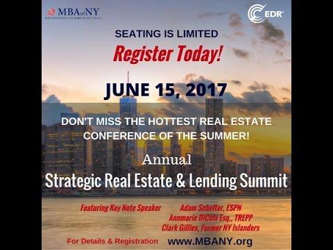 MBAofNY 2017 Real Estate & Lending Summit