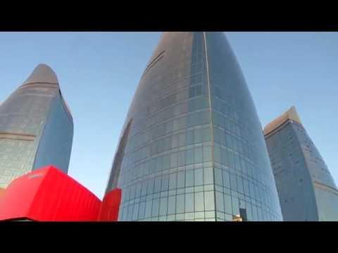 Baku city + Mardakan Beach - Azerbaijan 2017