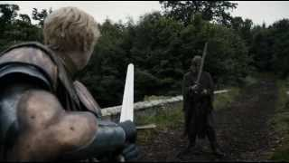 GoT 3x2 | Jaime Lannister and Brienne of Tarth  Sword Fight scene | HD |