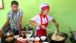 Как приготовить рис с курицей по-тайски