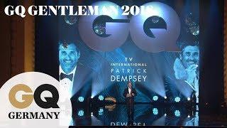 Patrick Dempsey ist bester internationaler Schauspieler | GQ Men of the Year 2018