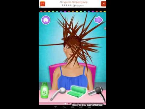Моя парикмахерская( игры для девочек )