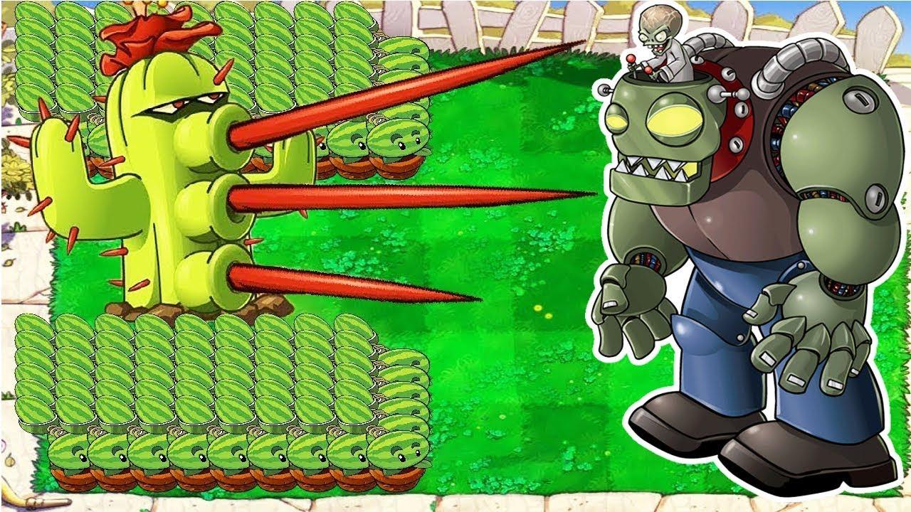 99999 Catus vs 99999 Giga-Gargantuar Plants vs Zombies